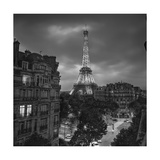Eifffel Tower Evening - Paris Landmarks  France