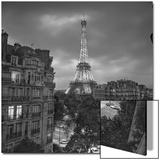 Eifffel Tower Evening - Paris Landmarks  France