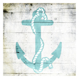 Teal Anchor