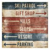Ski Info Sign