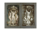 Two Studies for 'The Three Graces'