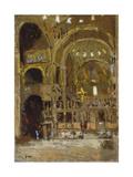 Interior of St Mark's  Venice