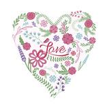 Valentine Garden Heart