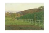 Landscape at Wotton  Surrey: Autumn