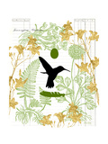 Garden Botanicals & Hummingbird