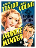 Private Number - starring Loretta Young and Robert Taylor