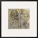 Mondrian: Composition  1913