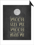 God Bless the Moon and God Bless Me Chalkboard