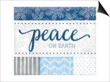 Peace Silver Blue