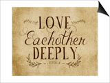 Love Eachother Deeply Vintage 2