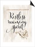 Restless Roaming Spirit