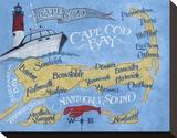 Cape Cod Beach Map