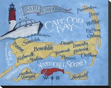 Cape Cod Beach Map