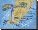 Cape May Beach Map
