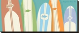 Longboards Surfboard print No 2
