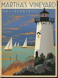 Martha's Vineyard  Massachusetts (Lighthouse)