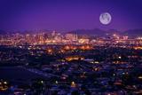 Phoenix Arizona Skyline Papier Photo par Duallogic