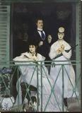 The Balcony  1868