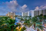Sarasota  Florida  USA Marina and Resorts Skyline