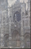 The Cathedral in Rouen  The Portal  Grey Weather  1892