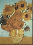 Sunflowers on Blue  1888