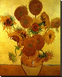 Sunflowers on Gold  1888