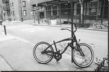 Village Bicycle (b/w)
