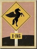 Unicorn X-ing Sign