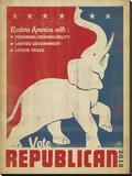 Vote Republican (Elephant)