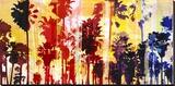 Sunset and Palms 1