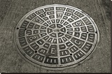 San Francisco Manhole Cover