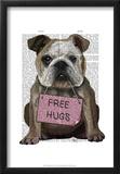 Bulldog Free Hugs