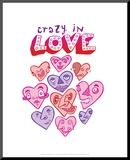 Crazy In Love - Tommy Human Cartoon Print