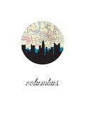 Columbus Map Skyline