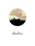 Durban Map Skyline