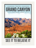 Travel Poster Grand Canyon