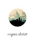 Corpus Chrisi Map Skyline