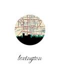 Lexington Map Skyline
