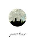 Providence Map Skyline