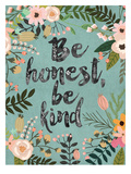 Be Honest  Be Kind