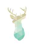 Gold Mint Deer