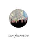 San Fran Map Skyline