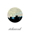 Richmond Map Skyline