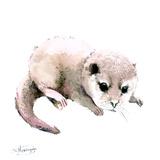 Baby Otter Reproduction d'art par Suren Nersisyan