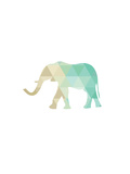 Mint Gold Elephant