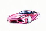 Car Art Sketch  Sport Car Pencil Drawing