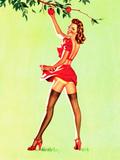 Good Pickin's Pin-Up c1940s
