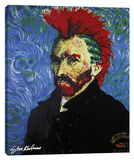 Van Gogh With Mohawk