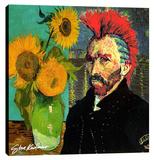 Van Gogh Mohaw & Sunflowers