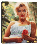 Marilyn With A Flower